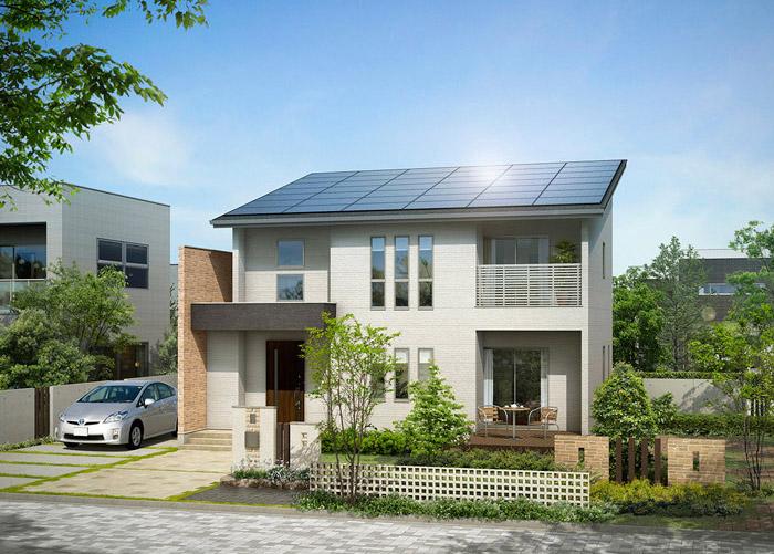 太陽光発電を搭載したZEH住宅